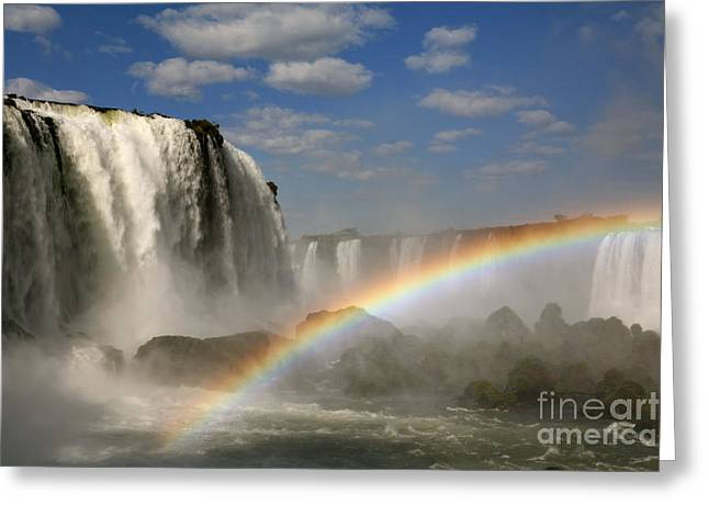 Natural Resources Greeting Cards - Over the Rainbow Greeting Card by Keith Kapple