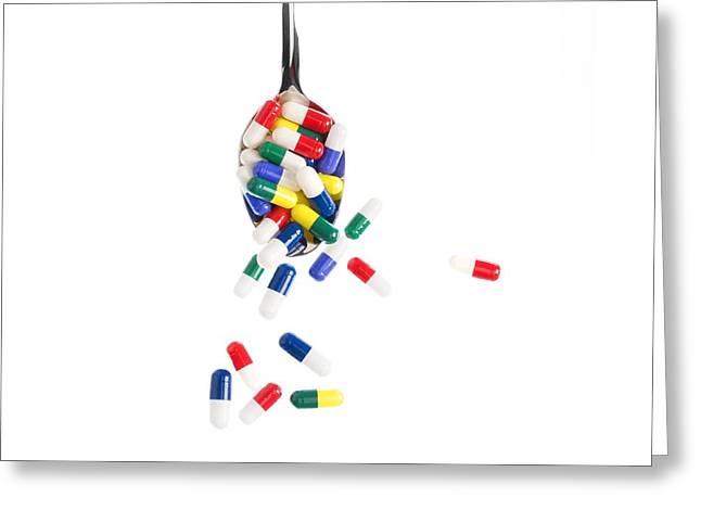 Overdose Greeting Cards - Overdose Greeting Card by