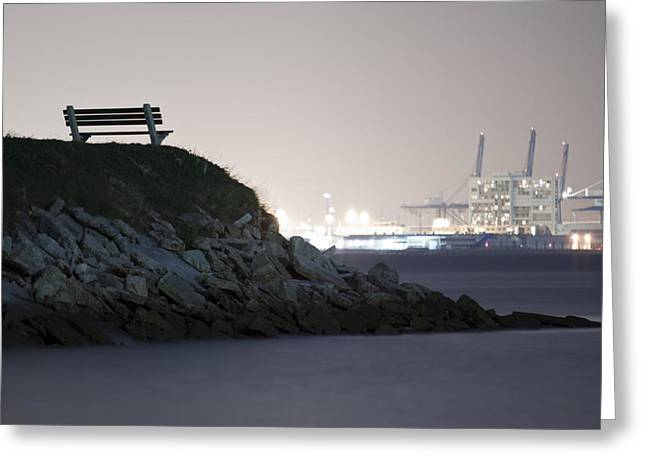 Overlooks Greeting Cards - Overlooking Industry in Color Greeting Card by Dustin K Ryan