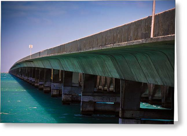 Florida Bridge Greeting Cards - Overseas Highway Greeting Card by Harry Spitz