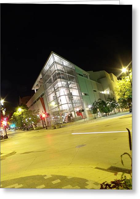 Overture Greeting Cards - Overture Center-Madison wis. Greeting Card by James Cook