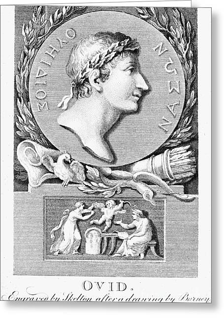1st Century B.c. Greeting Cards - Ovid (43 B.c.-?17 A.d.) Greeting Card by Granger