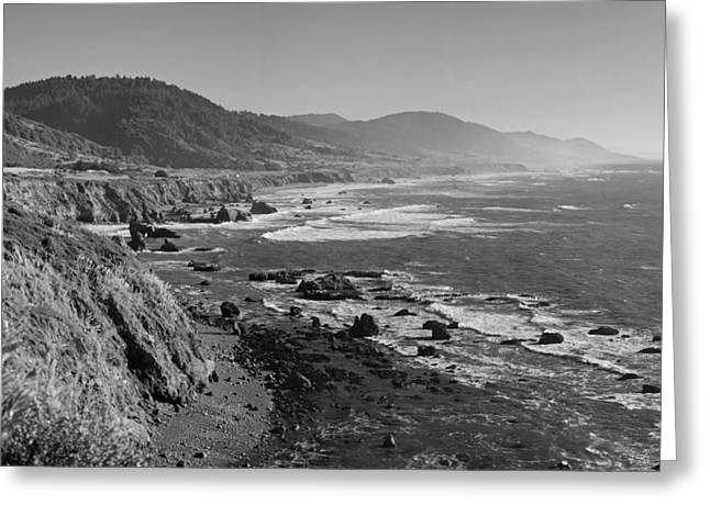 Pacific Coast Highway Coast Greeting Card by Twenty Two North Photography