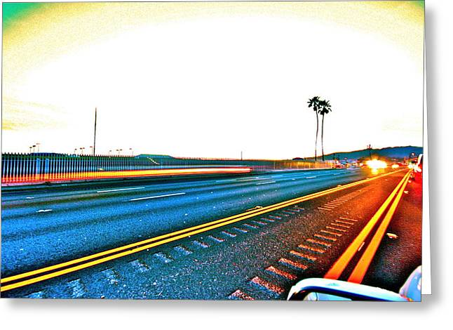 Pch Greeting Cards - Pacific Coast Highway Greeting Card by Jeremy Stewart