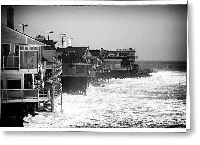 Pacific Ocean Prints Greeting Cards - Pacific Coast Living Greeting Card by John Rizzuto