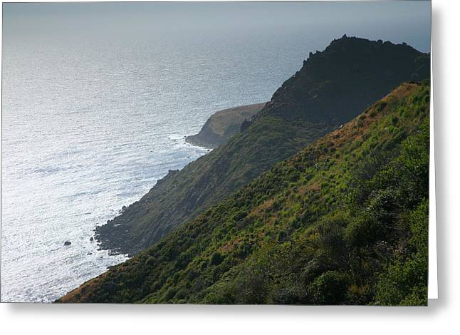 Pacific Ocean Prints Greeting Cards - Pacific Coast Shoreline IV Greeting Card by Steven Ainsworth