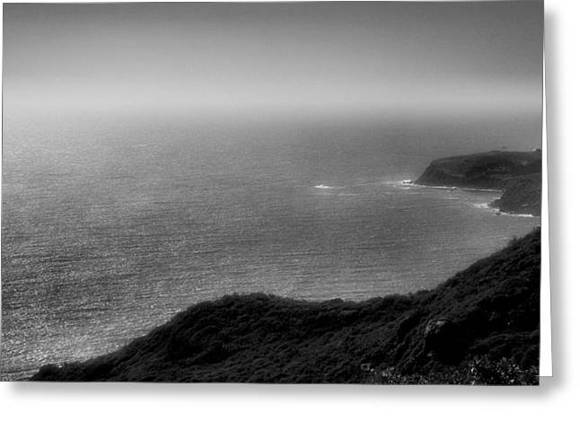 Pacific Ocean Prints Greeting Cards - Pacific Coast Shoreline VI Greeting Card by Steven Ainsworth