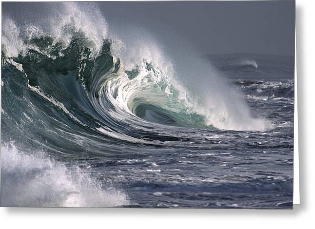 Vince Greeting Cards - Pacific Storms Greeting Card by Vince Cavataio