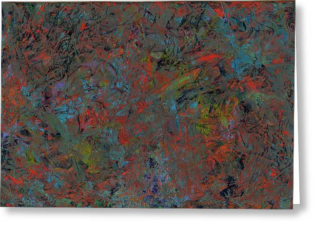 Abstracts Greeting Cards - Paint number 17 Greeting Card by James W Johnson