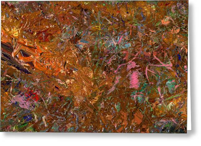 Abstracts Greeting Cards - Paint number 19 Greeting Card by James W Johnson