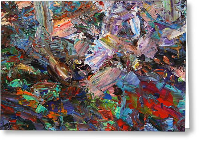 Objectives Greeting Cards - Paint number 42-c Greeting Card by James W Johnson