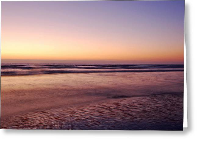 Paint Photograph Greeting Cards - Painted Beach  Greeting Card by Kelly Wade