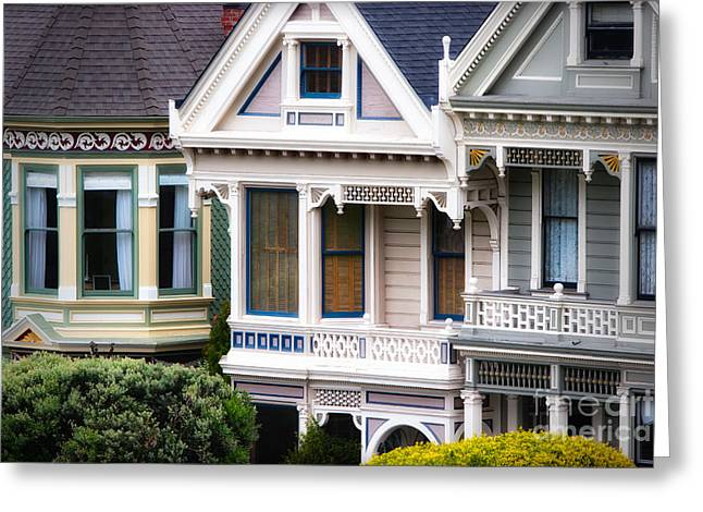 Sfo Greeting Cards - Painted Ladies Greeting Card by Doug Sturgess