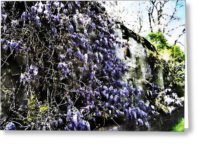 Abandoned Houses Digital Art Greeting Cards - Painted Neglect Greeting Card by Scott  Wyatt