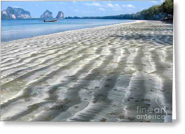 Asia Digital Greeting Cards - Pak Meng Beach Greeting Card by Adrian Evans