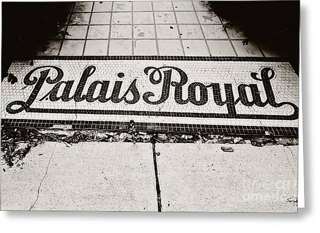 North Louisiana Greeting Cards - Palais Royal Greeting Card by Scott Pellegrin