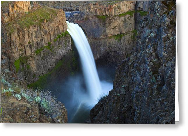 Palouse Falls Greeting Card by Mike  Dawson