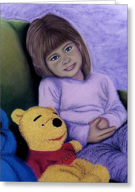 Child Toy Pastels Greeting Cards - Pals Greeting Card by Jan Amiss