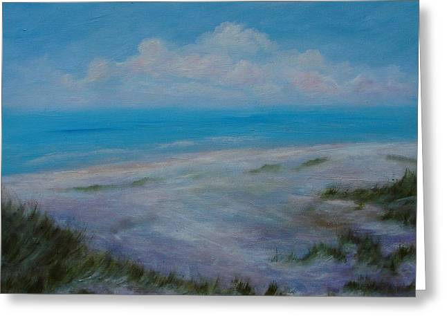 Panama City Beach Greeting Cards - Panama City Beach II Colors of the  Gulf Coast Greeting Card by Phyllis OShields