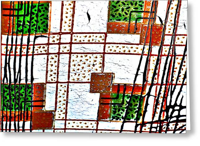 Alberta Prints Greeting Cards - Paper Wallz Greeting Card by Jerry Cordeiro