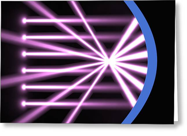Clinical Digital Art Greeting Cards - Parabolic Reflector 2 Greeting Card by Russell Kightley