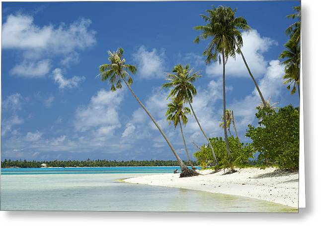 French Open Greeting Cards - Paradise - Maupiti Lagoon Greeting Card by Kyle Rothenborg - Printscapes