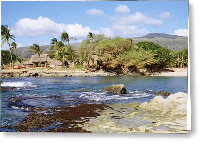 Historic Home Greeting Cards - Paradise Cove Greeting Card by David Cornwell First Light Pictures Inc - Printscapes
