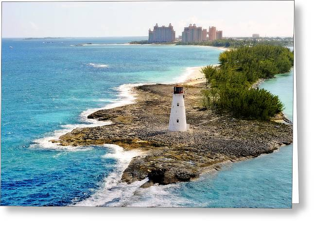 Paradise Island Series II Greeting Card by Kathy Jennings