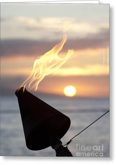 Lahaina Digital Greeting Cards - Paradise Greeting Card by Sharon Mau