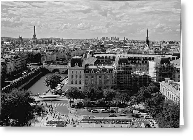 Adam West Greeting Cards - Paris Mon Amour Greeting Card by Adam West