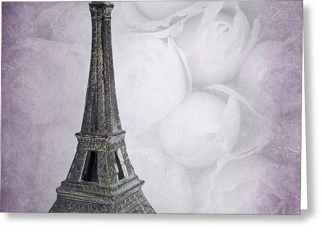 PARIS MON AMOUR Greeting Card by VIAINA