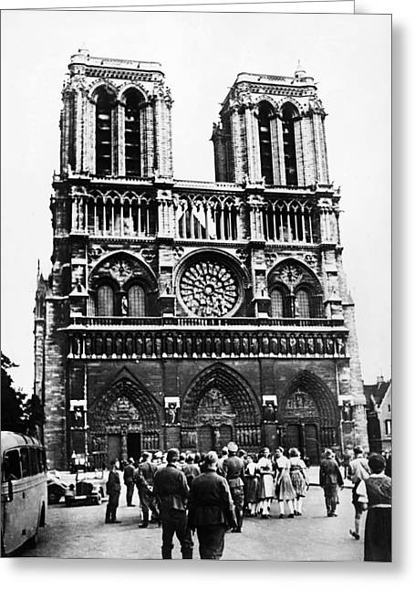 Paris: World War II, 1940 Greeting Card by Granger