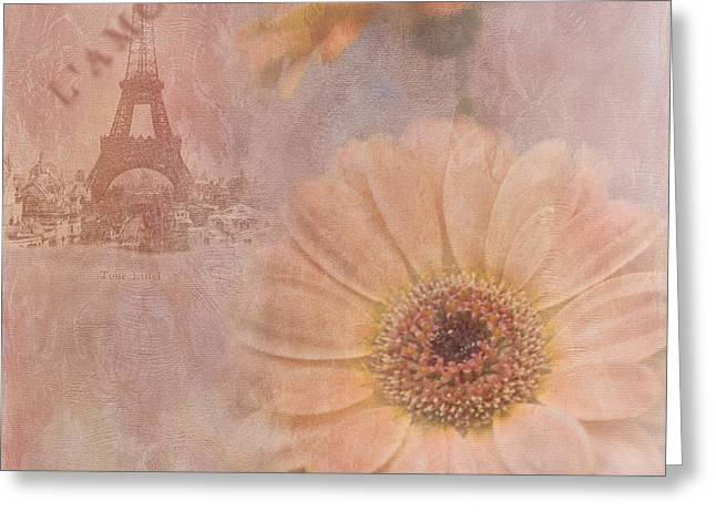 Parisian Oooo La La Greeting Card by Betty LaRue