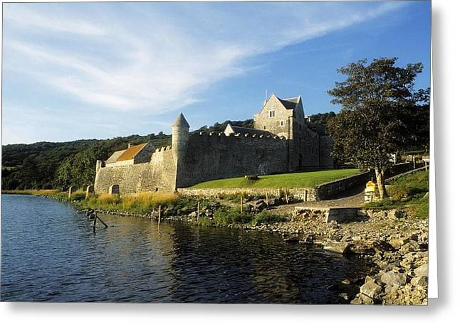 Safeguard Greeting Cards - Parkes Castle, Co Leitrim, Ireland Greeting Card by The Irish Image Collection