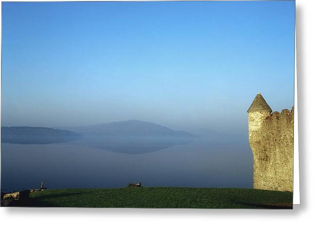 Connaught Greeting Cards - Parkes Castle, Lough Gill, County Greeting Card by The Irish Image Collection