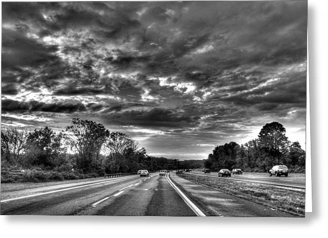 Garden State Greeting Cards - Parkway North Greeting Card by John Loreaux