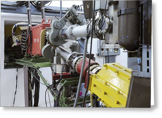 European Particle Physics Lab Greeting Cards - Particle Accelerator Equipment Greeting Card by Ria Novosti
