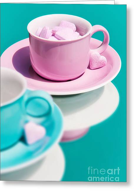 Sweet Tooth Greeting Cards - Pas-de-deux Greeting Card by Viaina
