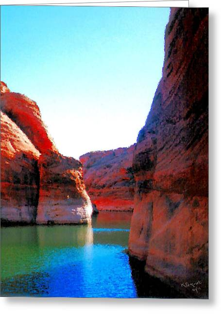 Best Sellers -  - Striae Greeting Cards - Passage Greeting Card by Kristin Elmquist