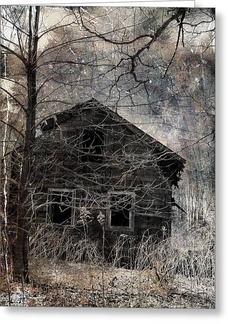 Old House Photographs Digital Art Greeting Cards - Passage Of Time Greeting Card by Gothicolors Donna Snyder