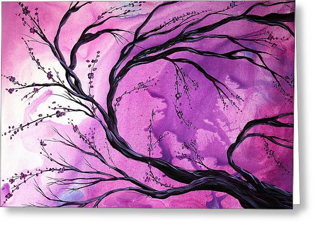 Passage Through Time by MADART Greeting Card by Megan Duncanson