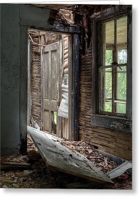 Creapy Greeting Cards - Passageways. Greeting Card by JC Findley