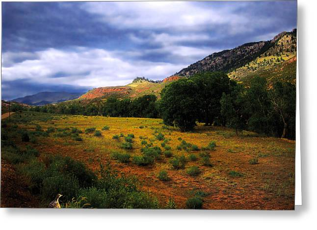 Luminist Greeting Cards - Passing Storm Greeting Card by Ric Soulen