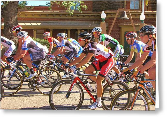 Tour Of The Gila Greeting Cards - Passing the Silver City Museum Greeting Card by Feva  Fotos