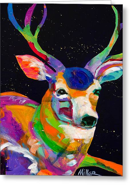 New West Greeting Cards - Passive Agreement Greeting Card by Tracy Miller