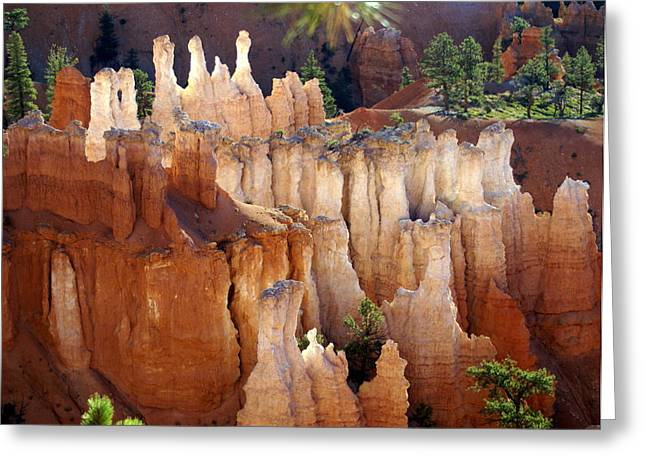 Marty Koch Greeting Cards - Pastel Bryce Greeting Card by Marty Koch