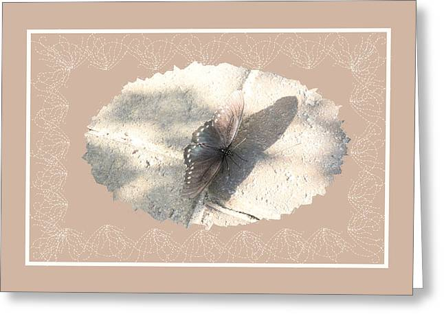 Morph Greeting Cards - Pastel Butterfly Greeting Card by Rosalie Scanlon