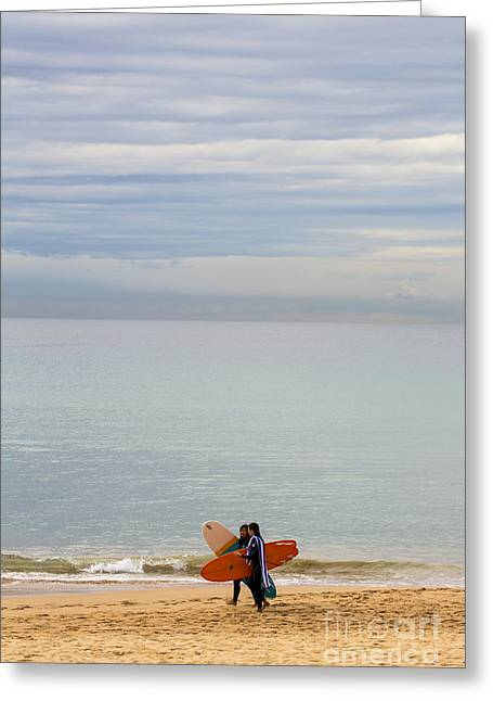 Pastel Manly Morning Greeting Card by Avalon Fine Art Photography