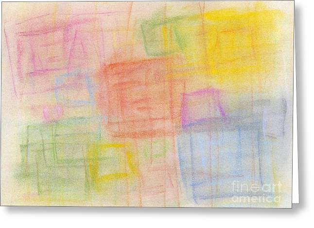Wallpaper Pastels Greeting Cards - Pastel Oct 2012 Greeting Card by Igor Kislev