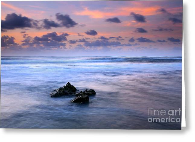 Pastel Tides Greeting Card by Mike  Dawson